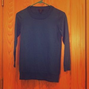 J Crew Tippi sweater - blue